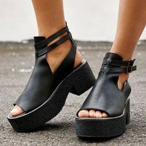 Free People Hallie Platform Sandals